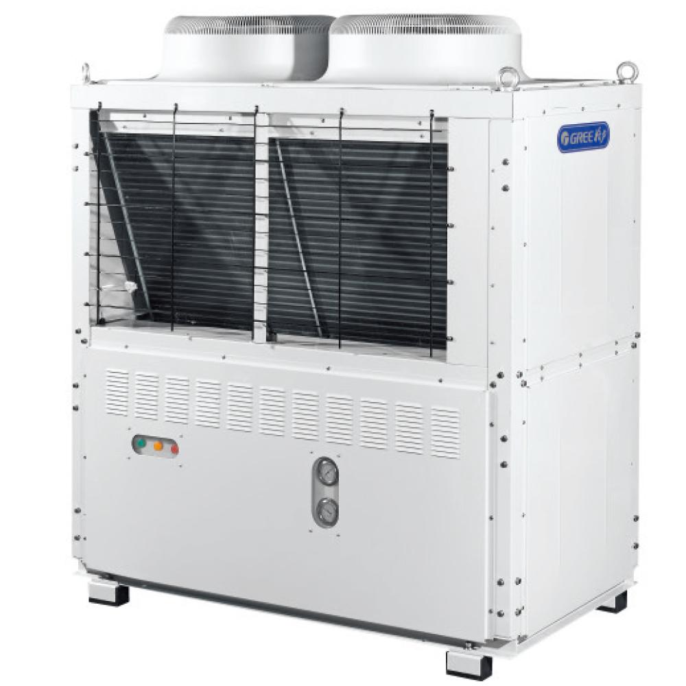 gnj-bf系列半封闭活塞式风冷冷凝机组 高效换热器,结构紧凑,多重保护